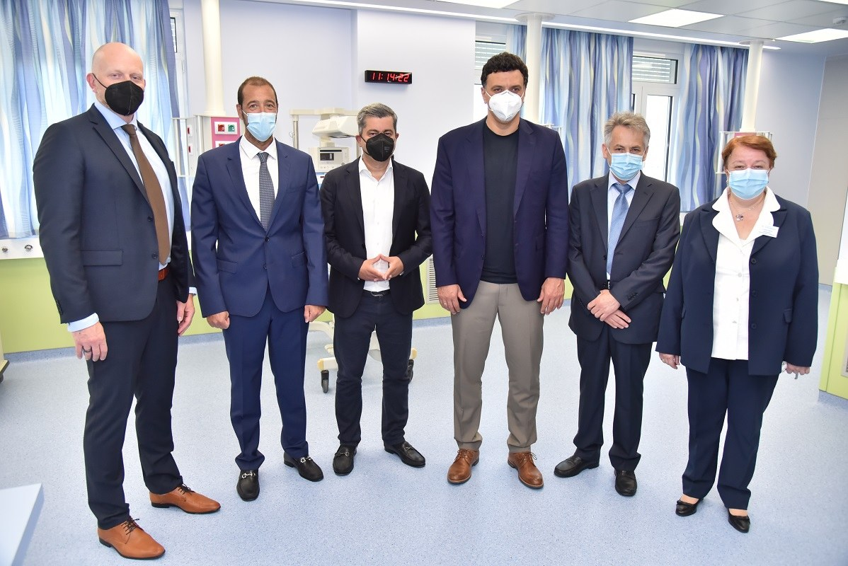 Εγκαινιάστηκαν από τον ΟΠΑΠ η ΜΕΘ Νεογνών και η Ουρολογική – Πλαστική Χειρουργική Μονάδα.