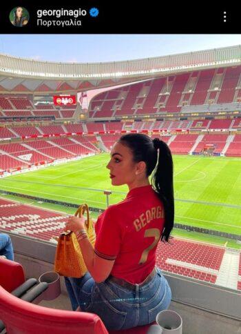 EURO 2020: Αυτή είναι η πληθωρική Τζορτζίνα Ροντρίγκεζ του Κριστιάνο Ρονάλντο (pics)