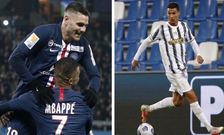 «Gazzetta dello Sport»: Ρονάλντο στην Παρί, Εμπαπέ στην Ρεάλ και Ικάρντι στην Γιουβέντους! (pic)