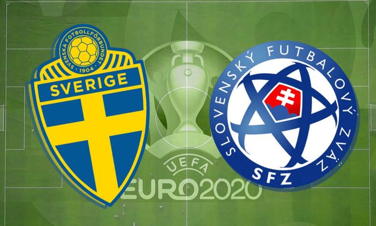 Euro 2020 Σουηδία – Σλοβακία LIVE