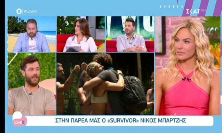 Survivor: Το Twitter αποθεώνει τον Νίκο Μπάρτζη για τα όσα είπε στο Loveit!