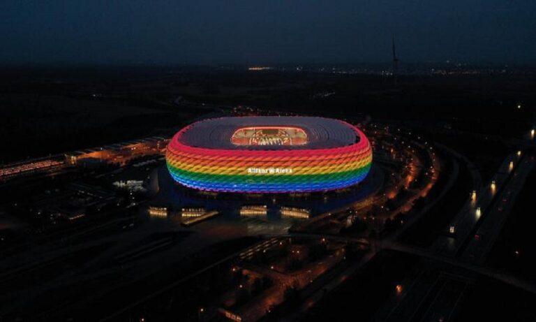 Euro 2020: Η UEFA απαγόρευσε τη φωταγώγηση της «Allianz Arena» στα χρώματα της ΛΟΑΤΚΙ κοινότητας