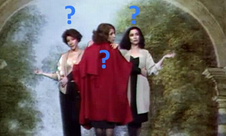 Τρεις Χάριτες: Η περίφημη κωμική σειρά που προβλήθηκε από Mega Channel στα πρώτα χρόνια της ιδιωτικής τηλεόρασης.