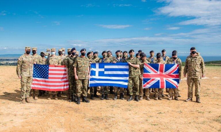 Ελληνοτουρκικά: Τρόμαξε τους Τούρκους η άσκηση στον Έβρο από Ελλάδα-Αγγλία (pics)