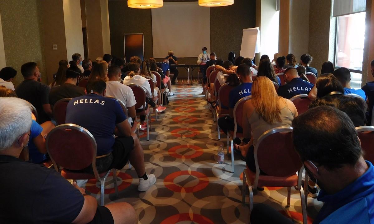 Ευρωπαϊκό Πρωτάθλημα Ομάδων 2021: Η συγκέντρωση της Εθνικής Ομάδας