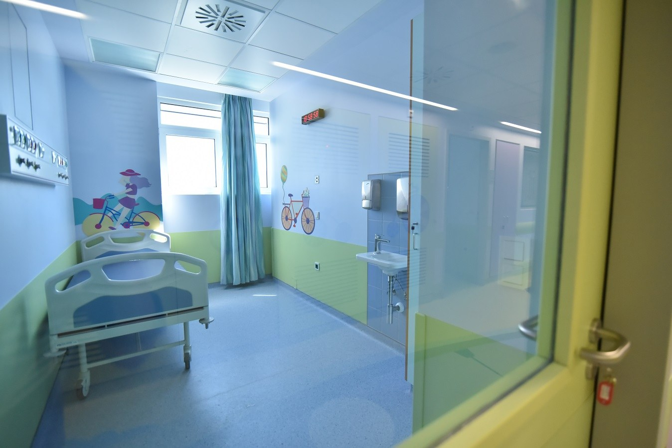 Τα νέα έργα στο παιδιατρικό νοσοκομείο «Παναγιώτης και Αγλαΐα Κυριακού»
