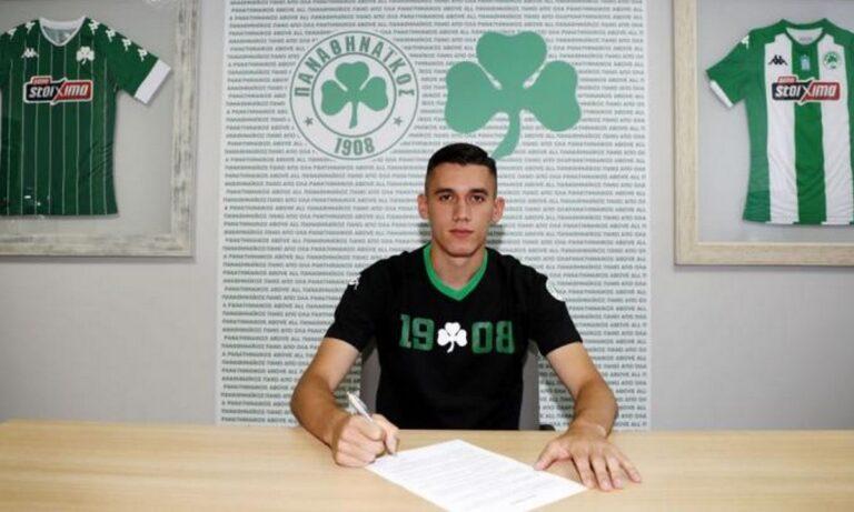 Παναθηναϊκός: «Πράσινος» και επίσημα μέχρι το 2024 ο Αλεξανδρόπουλος!