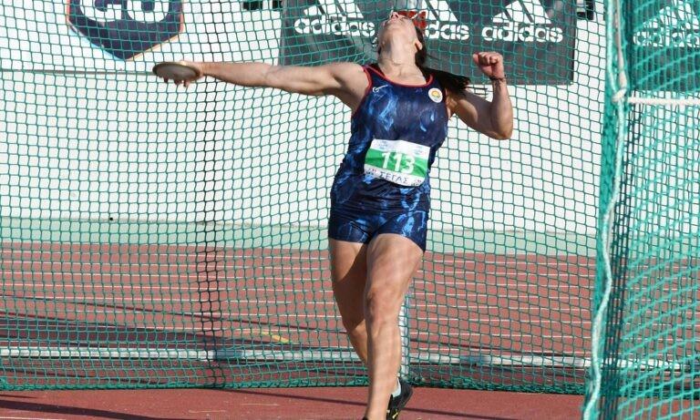 Η Χρυσούλα Αναγνωστοπούλου δεν είχε πρόβλημα να προσθέσει στο ενεργητικό της άλλη μια νίκη στη δισκοβολία στο Πανελλήνιο Πρωτάθλημα.