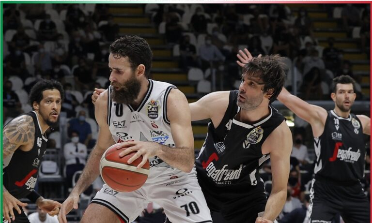 Έτοιμη να επιστρέψει στο θρόνο της πρωταθλήτριας Ιταλίας μετά από 20 χρόνια είναι η Βίρτους Μπολόνια η οποία επικράτησε 76-58 της Αρμάνι Μιλάνο και προηγείται με 3-0 στη σειρά των τελικών.