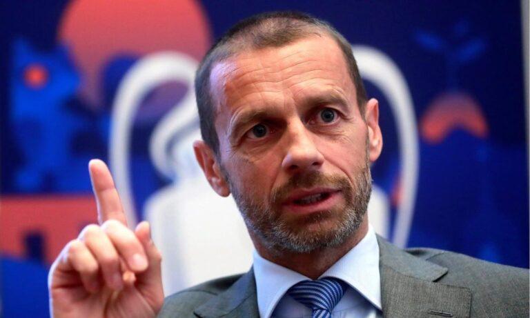 Ο πρόεδρος της UEFA, Αλεξάντερ Τσεφερίν, σε δηλώσεις του επιτέθηκε στις Γιουβέντους, Ρεάλ και Μπαρτσελόνα.