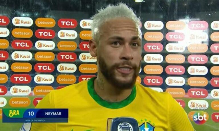 Copa America: Έβαλε τα κλάματα και συγκίνησε ο Νεϊμάρ
