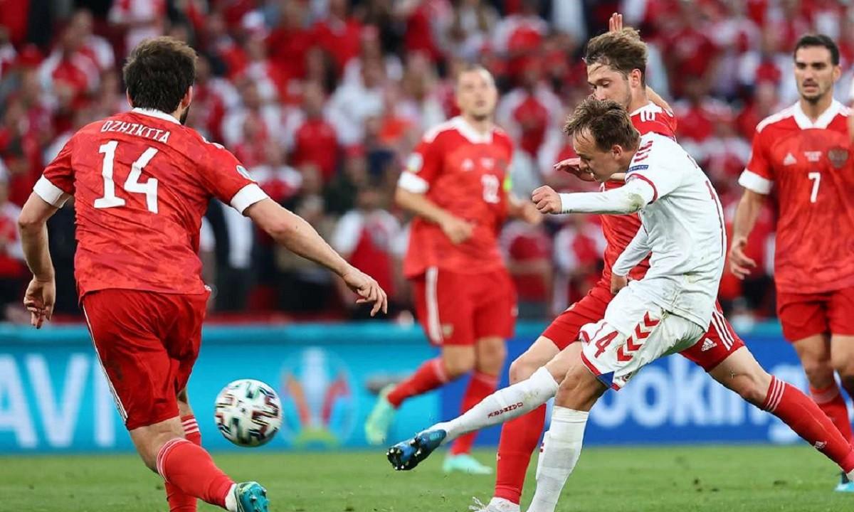 Euro 2020 Ρωσία – Δανία: Γκολάρα ο Ντάμσγκααρντ, τραγικό λάθος και 0-2 από Πόουλσεν (vids)