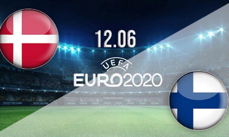 Euro 2020: Δανία – Φινλανδία LIVE