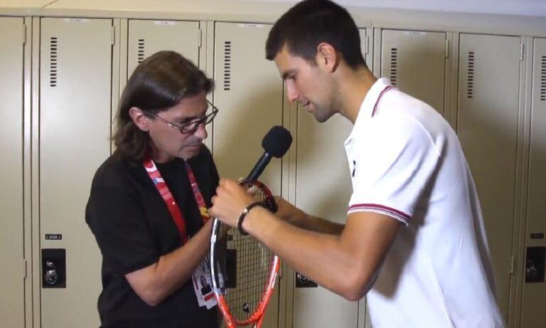 Τζόκοβιτς: Αυτό είναι το πιο κλασικό αστείο στο τένις – Το έκανε σε δημοσιογράφο (vid)