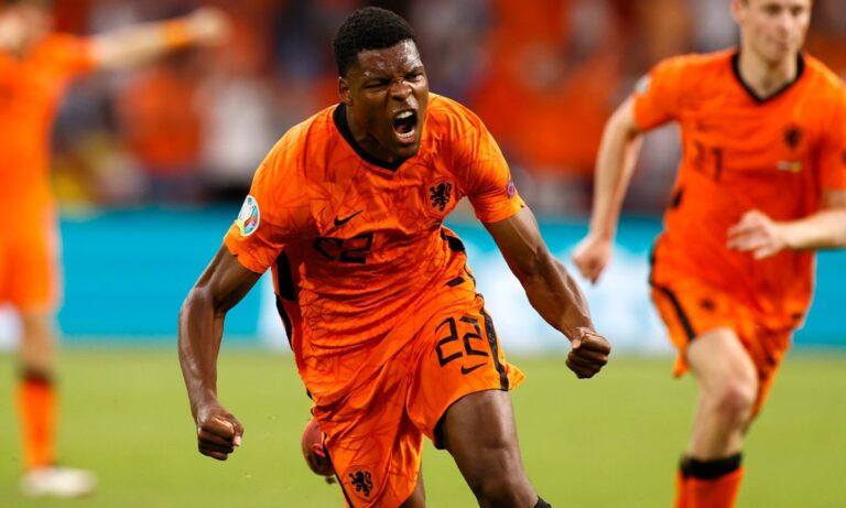 Euro 2020 – Ντένζελ Ντάμφρις: Από την Αρούμπα με αγάπη!