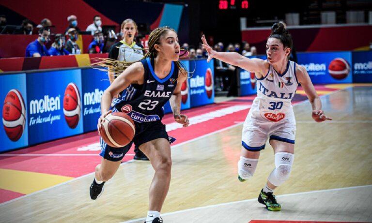 Ιταλία – Ελλάδα 77-67: Τρίτη ήττα και αντίο στο Eurobasket