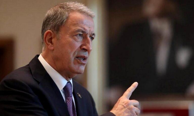 Ελληνοτουρκικά – Νέα πρόκληση Ακάρ: «Μάταιο να εξοπλίζεται η Ελλάδα, θα προστατέψουμε την Γαλάζια πατρίδα!»