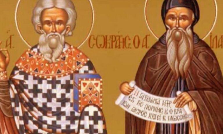 Εορτολόγιο Κυριακή 6 Ιουνίου: Σήμερα η εκκλησία γιορτάζει μεταξύ άλλων τη μνήμη του Οσίου Ιλαριώνος.
