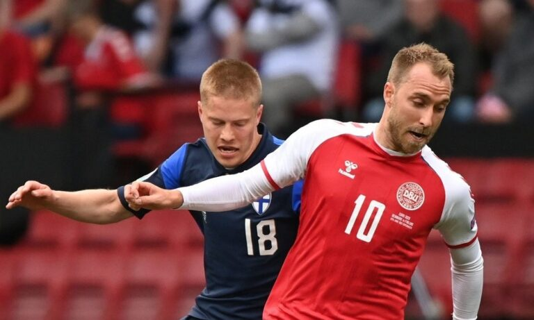 Euro 2020: Δανία και Βέλγιο θα σταματήσουν στο δεκάλεπτο για να τιμήσουν τον Έρικσεν