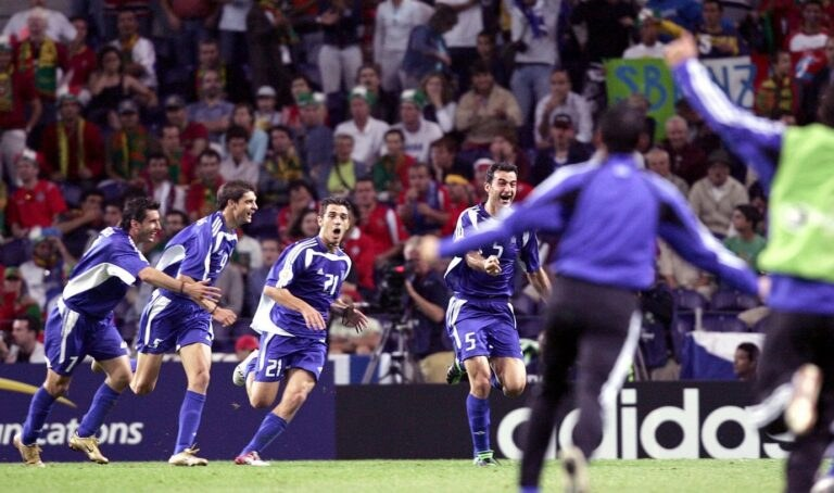 Euro 2004: Η… κανονιά του Δέλλα που έστειλε την Εθνική Ελλάδας στον τελικό