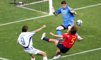 Euro 2004: Σαν Σήμερα η Ελλάδα αν και βρέθηκε πίσω στο σκορ, άντεξε και αναδείχθηκε ισόπαλη κόντρα στην Ισπανία.