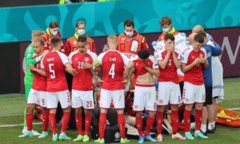 Euro 2020: Το BBC με ανακοίνωση του ζήτησε συγνώμη, για τα πλάνα του Έρικσεν, ενώ είχε καταρρεύσει.