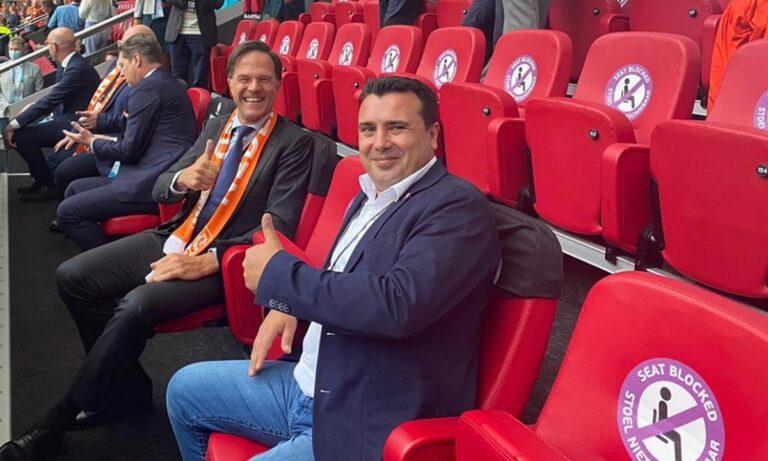 EURO 2020: Πρόκληση – Ο Ζάεφ έκανε Tweet για την «Βόρεια Μακεδονία» χωρίς το «Βόρεια»