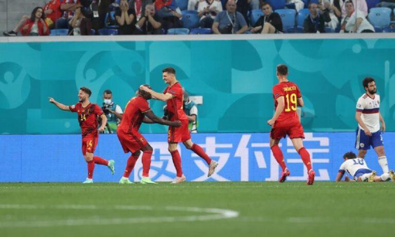 Euro 2020 Βέλγιο – Ρωσία: Μενιέ και 2-0 (vid)