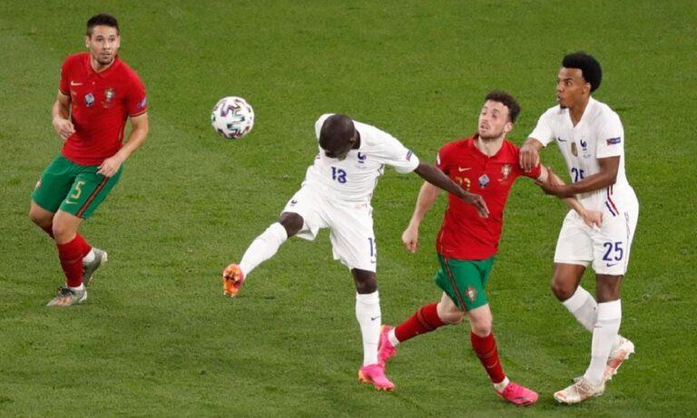 Euro 2020 Πορτογαλία – Γαλλία 2-2: Πέρασαν και οι δύο
