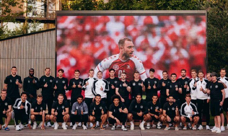 Euro 2020 Έρικσεν: Στο πλευρό του και η Εθνική Γερμανίας (pic)
