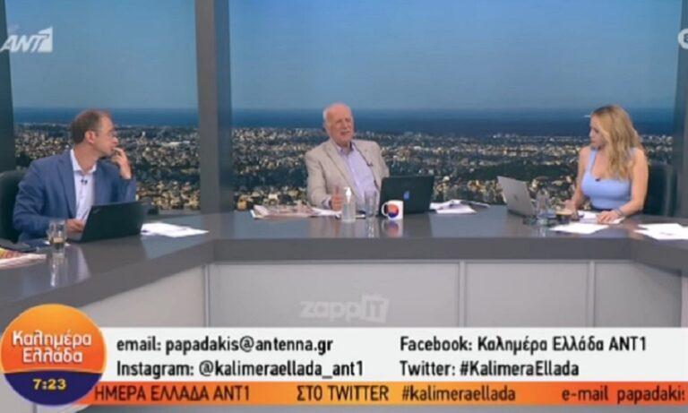 Έξαλλος ο Γιώργος Παπαδάκης στον αέρα της εκπομπής (vid)