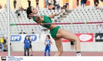 Η Τατιάνα Γκούσιν έδειξε στο Πανελλήνιο Πρωτάθλημα πως βρίσκει ρυθμό και κέρδισε στο ύψος με 1,91μ., ισοφαρίζοντας το ατομικό της ρεκόρ.