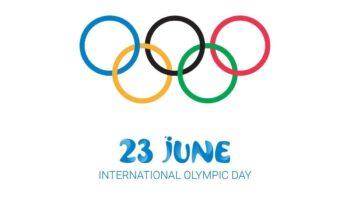Σαν Σήμερα έχει καθιερωθεί να γιορτάζεται η Ολυμπιακή Ημέρα στις 23 Ιουνίου του κάθε χρόνου.