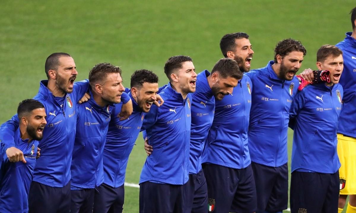 Euro 2020: Οι Ιταλοί ουρλιάζουν στον εθνικό τους ύμνο και… σείεται ο τόπος (vids)!