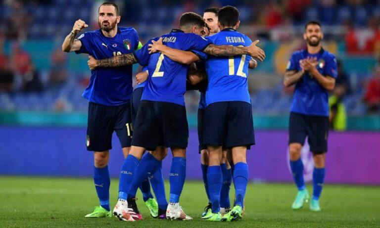 Euro 2020: Ιταλία – Ελβετία 3-0: Ξεκούραστη πρόκριση