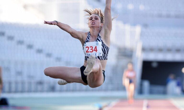 Πανελλήνιο Πρωτάθλημα Στίβου: Στο τέλος τη νίκη η Έφη Κολοκυθά με 6,33μ. στο μήκος
