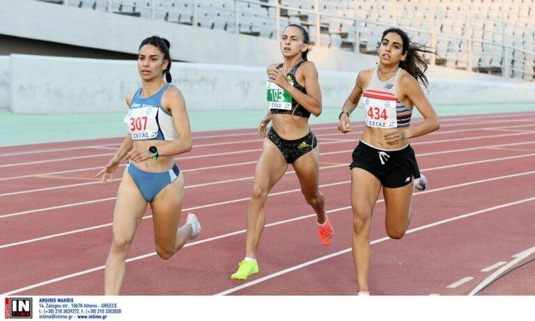 Η Ανθή- Κοραΐνη Κυριακοπούλου έκανε πολύ καλή κούρσα στα 1.500μ. και πήρε τη νίκη τερματίζοντας σε 4.19.82 στο Πανελλήνιο Πρωτάθλημα.
