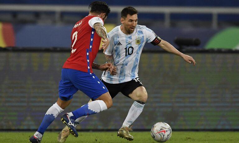 Copa America 2021 Αργεντινή – Χιλή 1-1: Τι να κάνει και ο Μέσι;