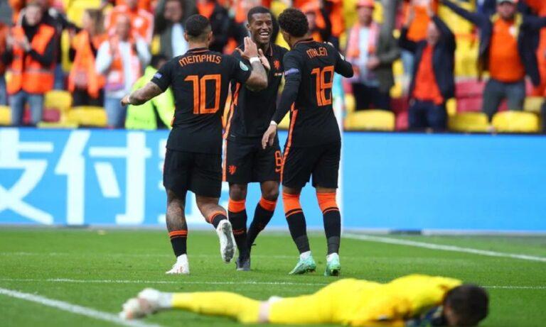 Euro 2020 Βόρεια Μακεδονία – Ολλανδία 0-3: Περίπατος