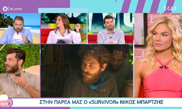 Survivor – Νίκος Μπάρτζης: Μαλλιά κουβάρια με Μαλέσκου και δημοσιογράφο!
