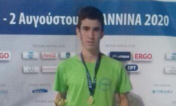 Ένας ακόμη αθλητής προστέθηκε στη λίστα της Εθνικής Ομάδας για το Ευρωπαϊκό Πρωτάθλημα Κ20 που θα διεξαχθεί 15-18 Ιουλίου στο Ταλίν.