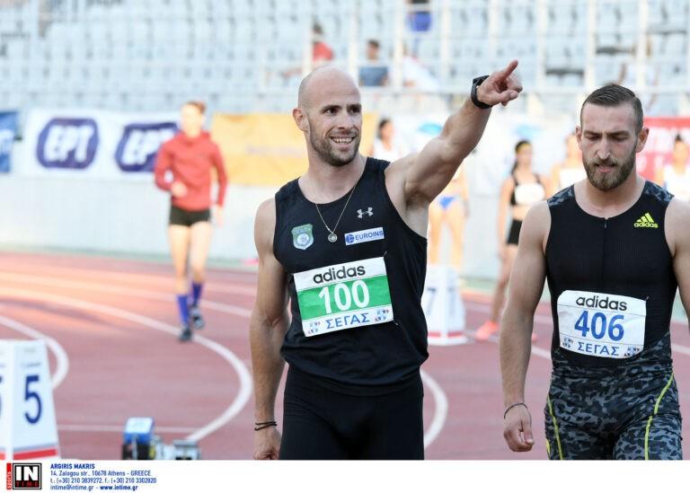 Ο Γιάννης Νυφαντόπουλος έχει μετατραπεί στον σπρίντερ των Πανελληνίων Πρωταθλημάτων, κερδίζοντας για τέταρτη φορά και συνεχόμενη τα 100μ.