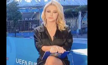 Euro 2020 Paola Ferrari