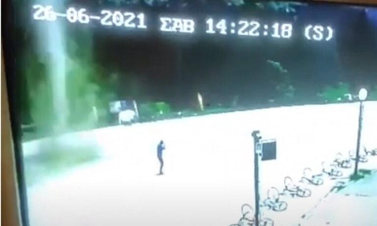 Βίντεο από τον ανεμοστρόβιλο που χτύπησε το Περτούλι