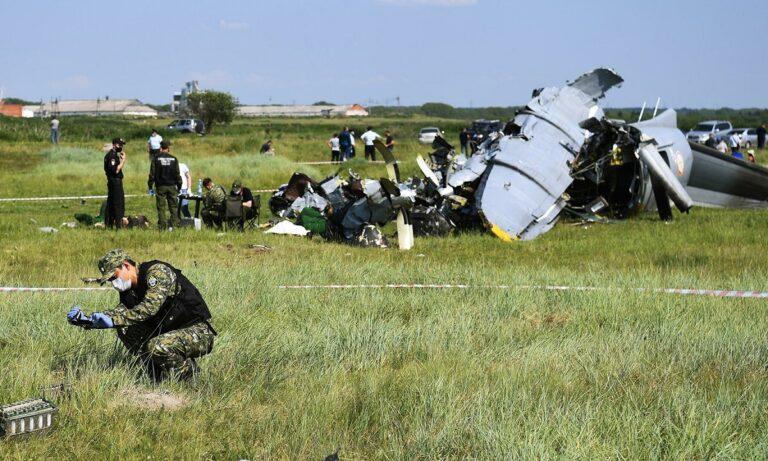 Συντριβή αεροσκάφους με νεκρούς στη Ρωσία!