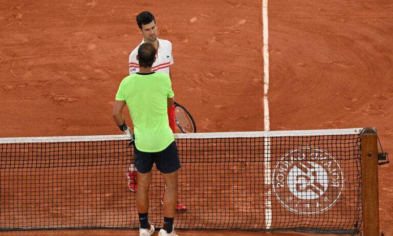 Roland Garros: «Κουλ ο Ναδάλ παρά την ήττα από τον Τζόκοβιτς»