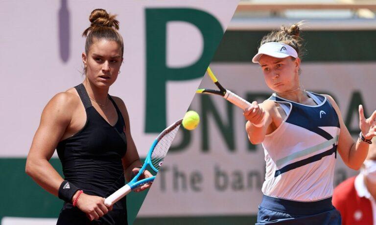 Σάκκαρη – Κρεϊτσίκοβα 1-2 σετ: Έδωσε μάχη για την πρόκριση στον τελικό του Roland Garros