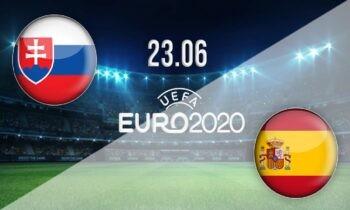 Euro 2020: Σλοβακία – Ισπανία LIVE