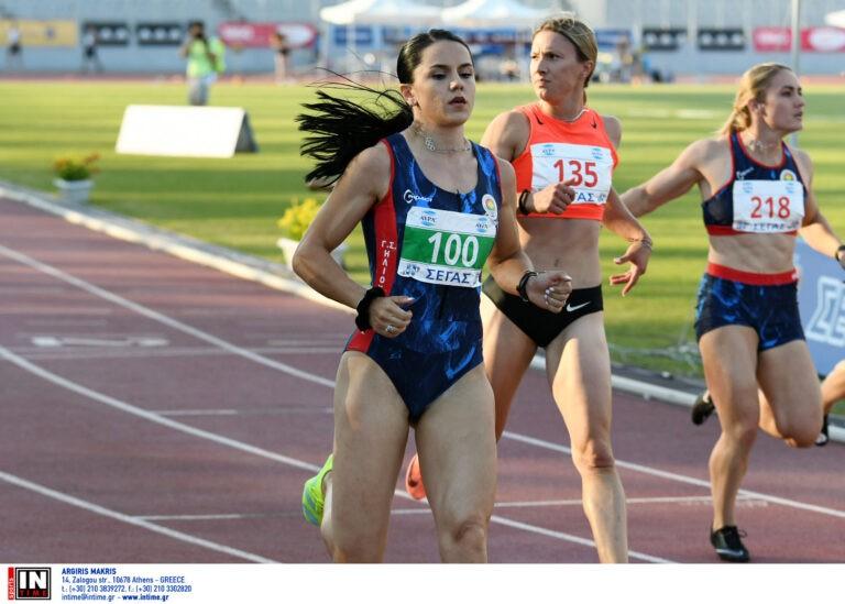 Πανελλήνιο 2021: Σταθερή αξία η Σπανουδάκη στα 100μ.-Ατομικό η Δαλάκα