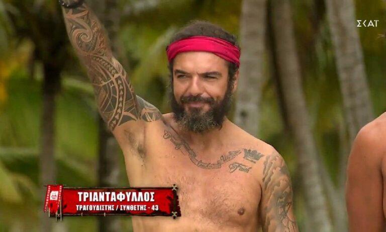 Survivor 2/6: Ο Τριαντάφυλλος αποχωρεί σήμερα από το ριάλιτι επιβίωσης με αρκετά χρήματα ως αμοιβή να εισπράττει.